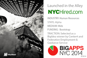 Meet NYC Hired – A NYC BigApps Finalist