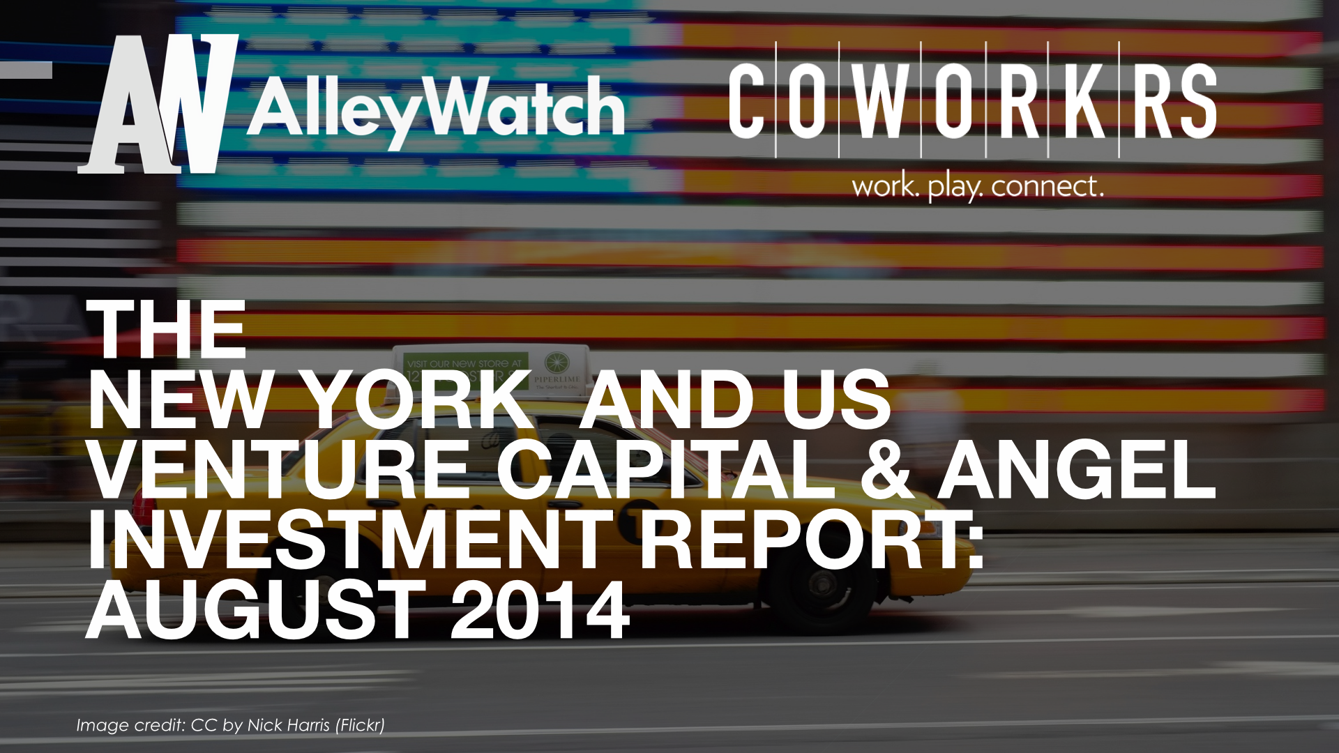 AlleyWatch New York and US Venture Capital & Angel Investment Report August 2014 .002