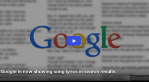 Google is Now Showing Song Lyrics in Search Results