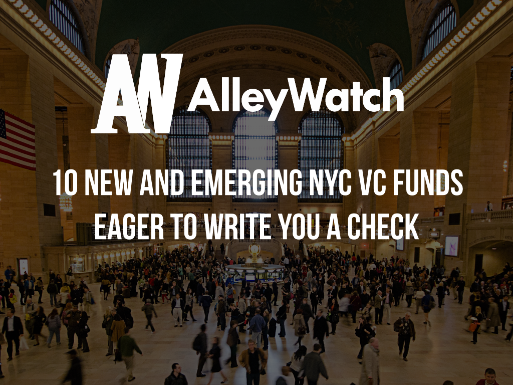 new nyc vc firms