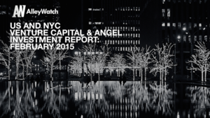 The February 2015 NYC Venture Capital and Angel Funding Report