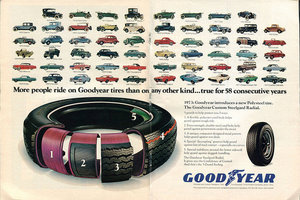 Goodyear Developing an Electricity Generating Tire