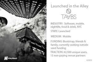 Heading Out for the Evening? Make Sure to Pick Up the TAABS First