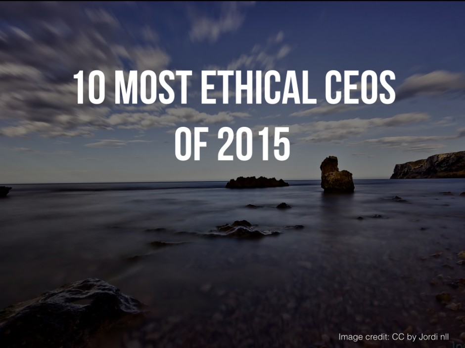 is it ethical for ceo's and We earn trust by behaving ethically and holding all team members and directors accountable for the decisions we make and the actions we take the code of ethics and business conduct (pdf) serves to guide the actions and decisions of our team members, including executive officers, and directors consistent with our company vision and values.