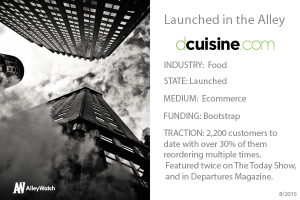 This NYC Startup Ensures that Just 15 Minutes Separates You From Gourmet Meals