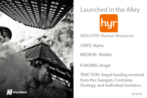 NYC AI Platform Hyr is Finding You Work