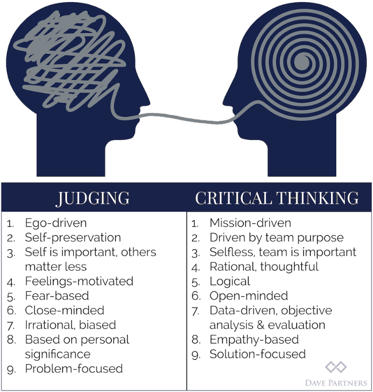 Critical Thinking: The Difference Between Good and Great Leaders