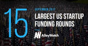 These are the 15 Largest US Startup Funding Rounds of September 2017