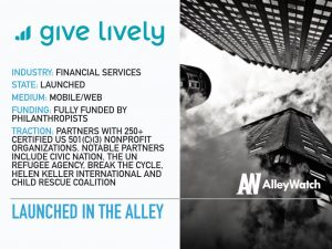 Give Lively Makes Zero Profit and Revenue and Plans to Keep it That Way