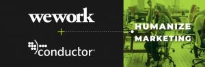 NYC Startup Conductor Acquired by WeWork