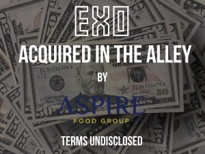 NYC Cricket Protein Startup Exo Acquired by Aspire Food Group