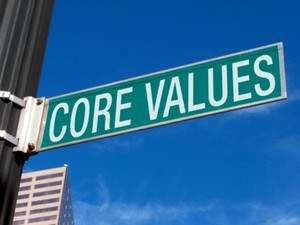 startup values