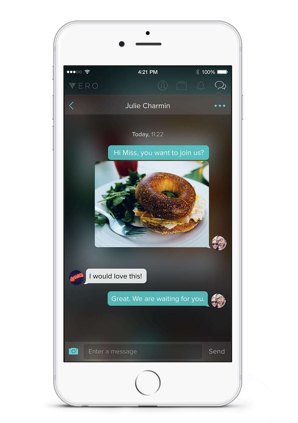 Vero-iPhone-Chat