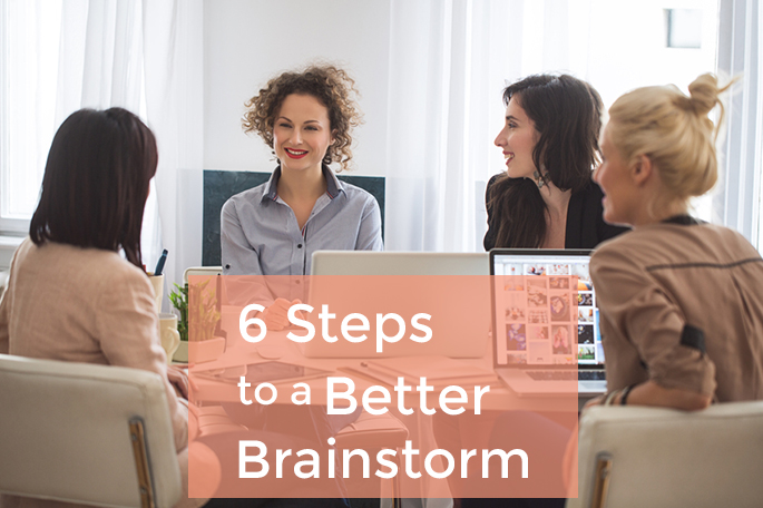 How to Lead a Productive Brainstorm
