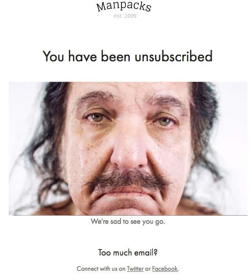 Unconversion Optimizing Email Unsubscribe 15