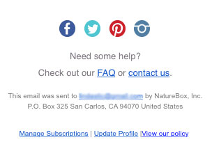 Unconversion Optimizing Email Unsubscribe 3